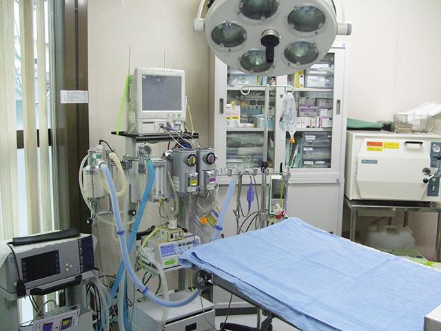 ひっぽ動物病院_手術室_写真